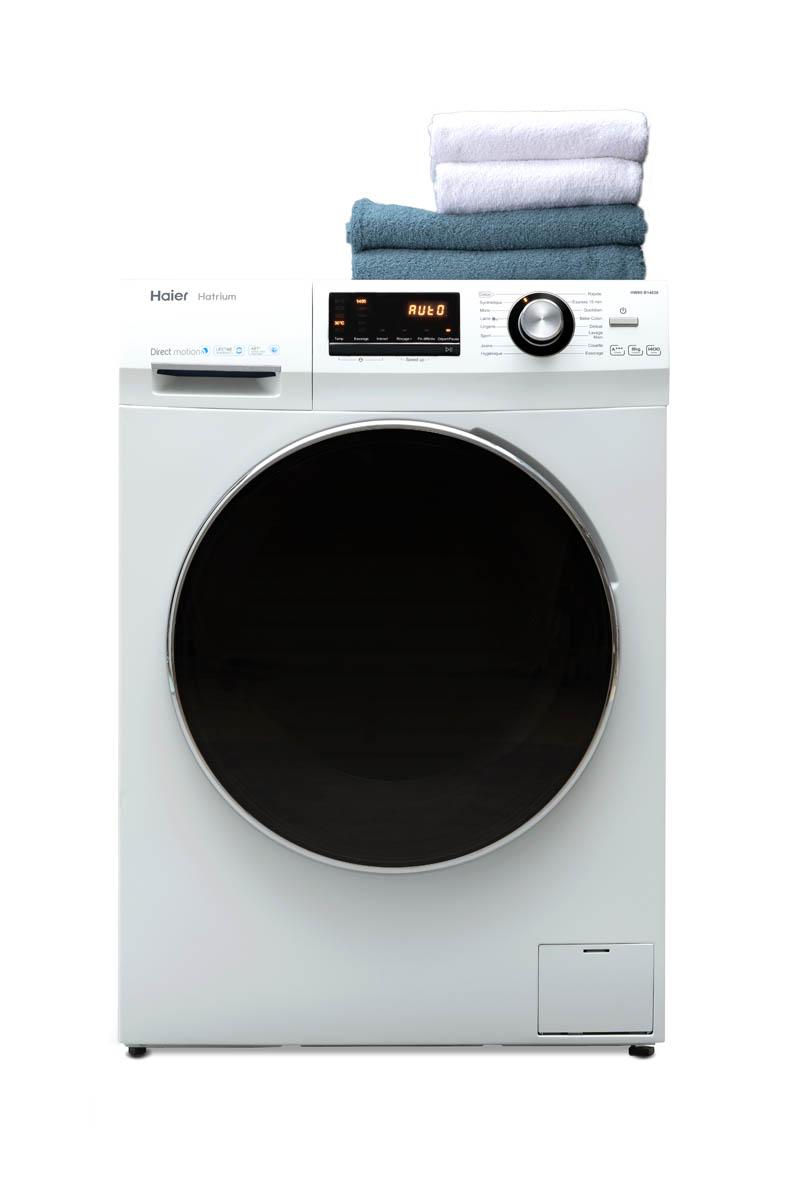 haier lave linge hw100 b14636 d couvrez ici toute notre gamme. Black Bedroom Furniture Sets. Home Design Ideas