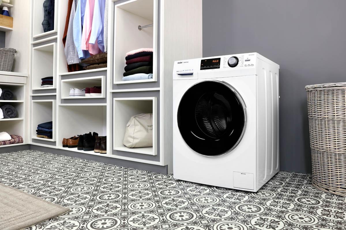haier lave linge hw100 b14636 d couvrez ici toute notre. Black Bedroom Furniture Sets. Home Design Ideas