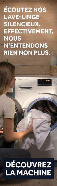 découvrez les lave-linge Haier