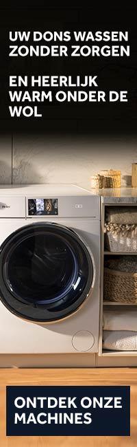 hoe donsdeken wassen